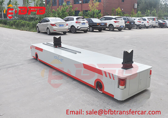 Battery Power Automatic Roll Rail Transfer Carts