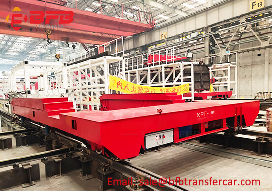 15 Ton Industrial Transfer Trolley With Lifting Manufacturer